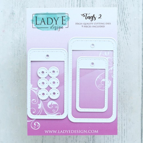 Lady E Design Tags 2 Die
