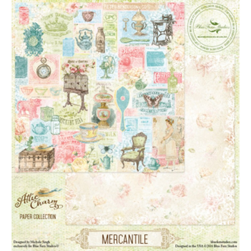 Blue Fern - Autumn Anthology - Mercantile
