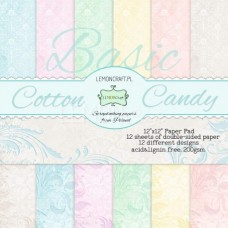 Lemoncraft - Cotton Candy - 12 x 12 Paper Pad