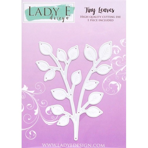 Lady E Design Tiny Leaves Die